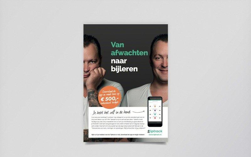 AWVN campagne Tiptrack - folder