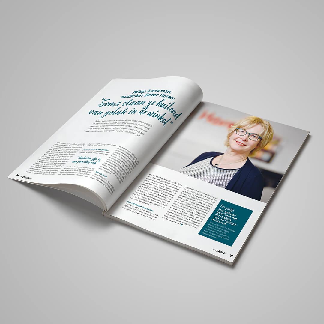 Uw oren fit magazine Beter Horen Conceptinc