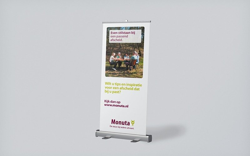Monuta Even stilstaan bij - banner