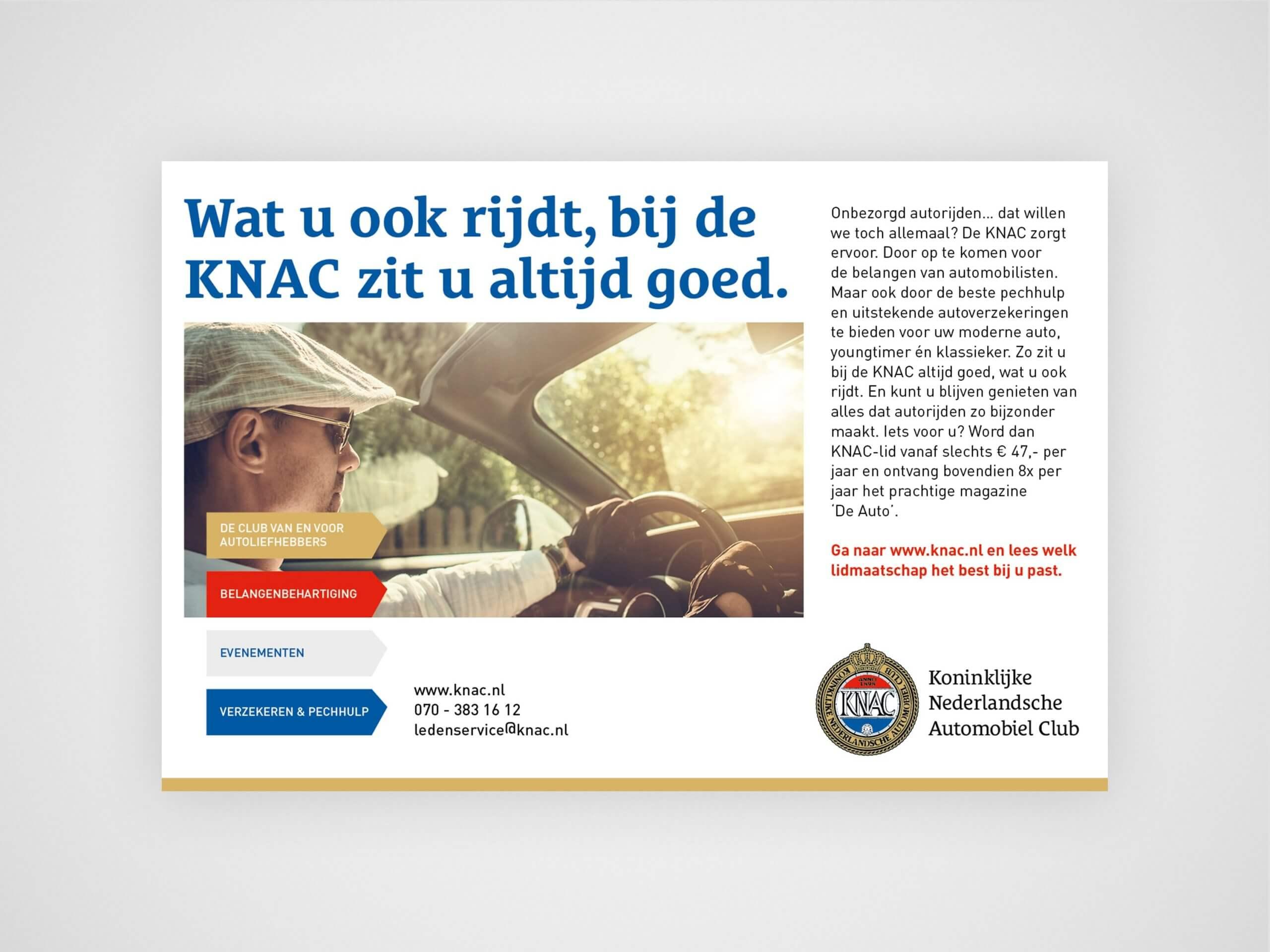 KNAC advertentie - Conceptinc